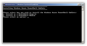 POWERSHELL-AzureManagementToolsSnapIn Not installed